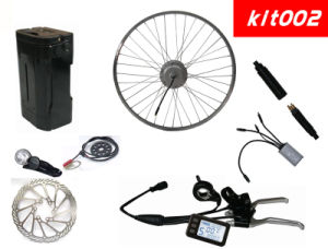 200W 36V Easy Attached Electric Bike Lithium Battery Kit for Electric Bike pictures & photos