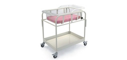 Neonate Newborn Baby Hospital Medical Cart Bed (KS-A19)