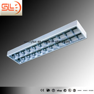 T8 Grid Lamp 2*58W, I-Shape Surface Light pictures & photos