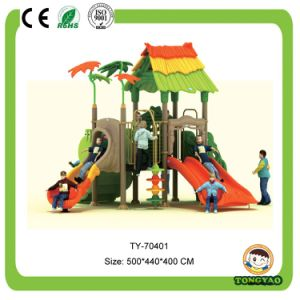 Hot Selling Outdoor Plastic Slide for Children (TY-70401) pictures & photos