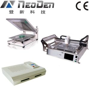 One Stop Pick and Place Production Line (PM3040+NeoDen3V-Std+T962c) pictures & photos