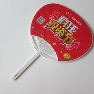 PP Gift Plastic Fan for Promotional Gift pictures & photos