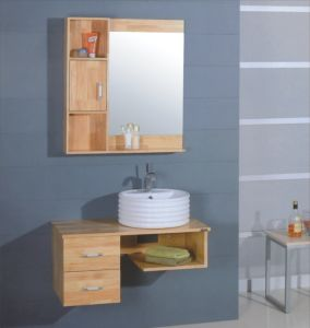 Wooden Bathroom Cabinet Furniture (B-230) pictures & photos