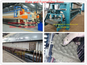 Plate and Frame Filter Press with Good Effect in Mining Industry pictures & photos