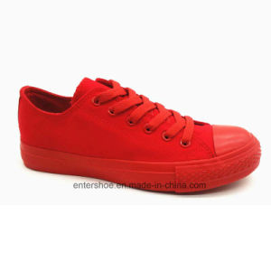 Canvas Lady′s Sneakers (ET-YH160107W) pictures & photos