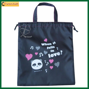 Promotional Customized Polyester Drawstring Bags (TP-dB167-1) pictures & photos