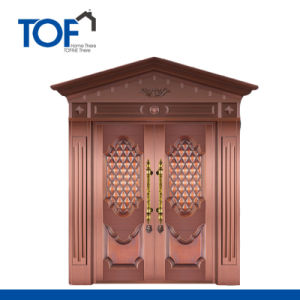 High Quality Luxury Security Copper Door