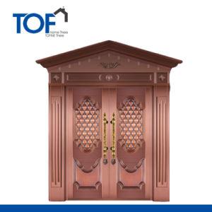 High Quality Luxury Security Copper Door