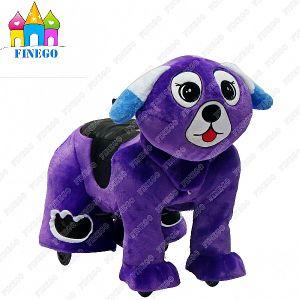 Happy Dog Indoor Furry Children Kingdog Animal Zippy Rides for Sale pictures & photos