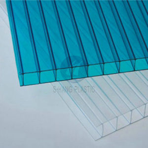 Twin-Wall Polycarbonate PC Roofing Sheet for Greenhouse pictures & photos