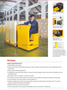 2-2.5t Electric Pallet Truck pictures & photos