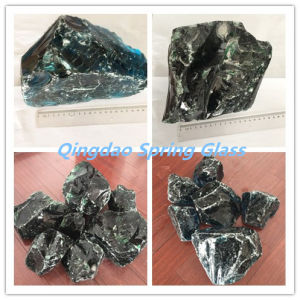 Large Glass Rocks Blue Color Size 15-30cm pictures & photos