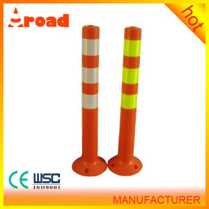 PU Reflective Warning Post Traffic Column, Traffic Barrier pictures & photos