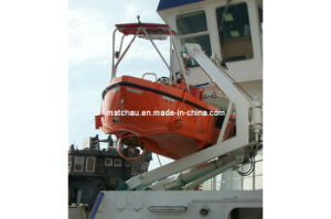 Fast Speed 6 Man Rescue Boat with C Type Davit pictures & photos