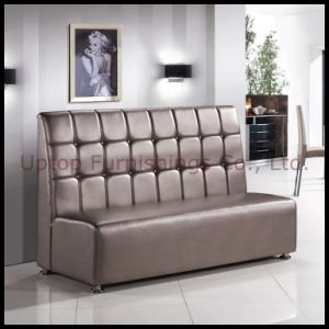 Luxury PU Leather Booth Restaurant Sofa (SP-KS100) pictures & photos