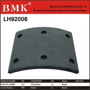 Advanced Quality Brake Linings (LH92006) pictures & photos