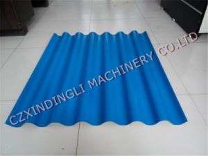Automatic Color Steel Water Wave Roll Forming Machine pictures & photos