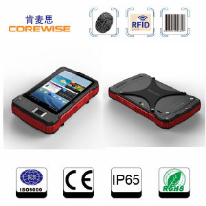 Touch Screen Handheld Barcode Scanner, RFID Reader, Android Tablet PDA pictures & photos