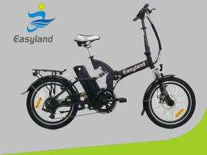 """Aluminum Alloy Frame 20"""" Electric Folding Bicycle EL-Dn2005z pictures & photos"""