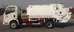 Sinotruck 5m3 Capacity Compactor Garbage Truck pictures & photos
