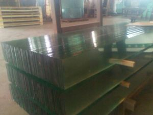 Louvre /Louver Glass (Polished Edge Work) pictures & photos
