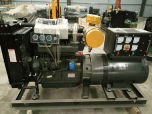 Permanent Magnet Diesel Engine Open Type Generator Gense pictures & photos