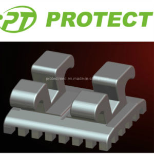 Orthodontic Metal Monoblock Standard/Mini Edgewise Bracket