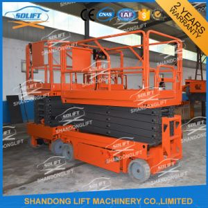 4-14m Hydraulic Mobile Self-Propelled Scissor Lift pictures & photos
