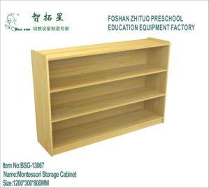 Children Montessori Wooden Storage Cabinet