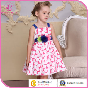 Flower Girl Party Dress, Polkka DOT Cotton Children Clothes