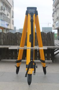Fiber Glass Tripod for Total Station Survey (LJW10T) pictures & photos