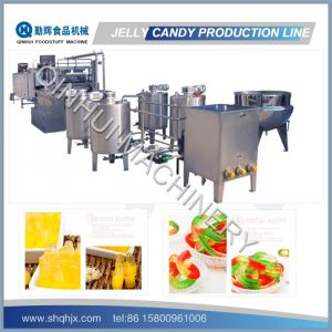 Jelly Candy Depositing Line pictures & photos