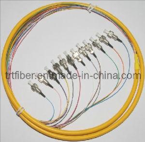 Fiber Optic Pigtail FC/Upc Singlemode Fanout Fiber pictures & photos