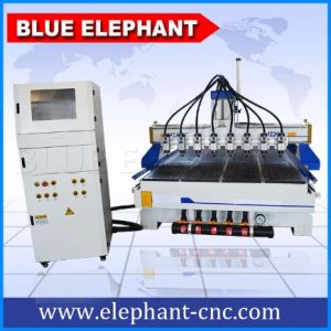Hot Sale Multi Spindle 4 Axis CNC Router with Rotary pictures & photos