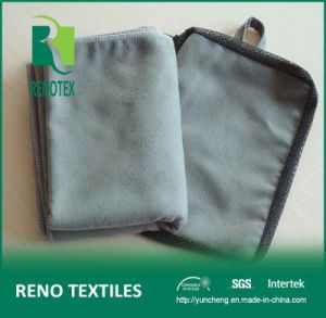 80%Polyester 20%Nylon Suede Sport Towel Microfibre with Mesh Bag
