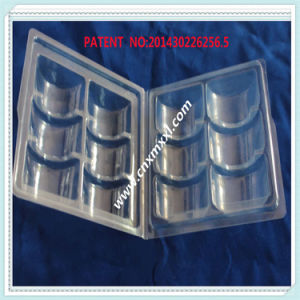 6-Packing Blister Clamshell Tray