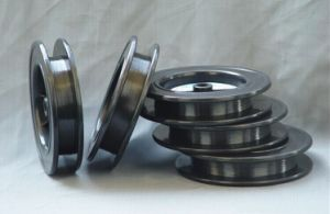 Wal1 99.95% Customized Black Coiled Tungsten Filament for Heating Dia0.06mm pictures & photos