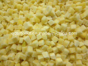 Frozen Yellow Peach Diced (5X5mm & 10X10mm) pictures & photos