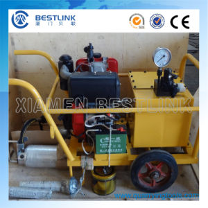 Diesel Power Pack Hydraulic Splitter for Granite Sandstone and Concrete pictures & photos