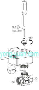 2-Way Brass Motorized Ball Valve for Fan Coil (BS-858-20) pictures & photos