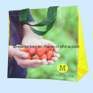 Factory Wholesale High Quality Cheap Custom Printed PP Woven Bag with Logo pictures & photos