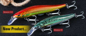 Hard-Fishing Lure-Fishing Bait-Fishing Tackles-New Product-Bright-Minnow 95/Minnow 115 pictures & photos