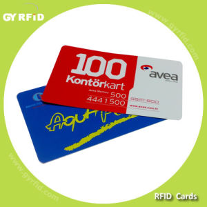 ISO Hitag S2048 Radio Frequency Identification PVC Card for RFID Systems (GYRFID) pictures & photos