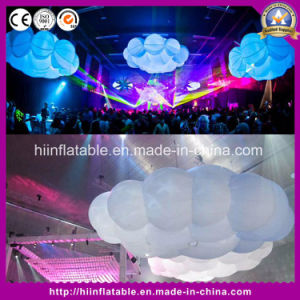 Customized Multicolor LED Giant Inflatable Cloud, Inflatable Ball with LED Light pictures & photos