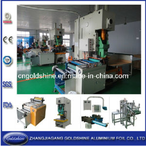 Household Aluminum Foil Making Machine Line (GS-JP 110T) pictures & photos