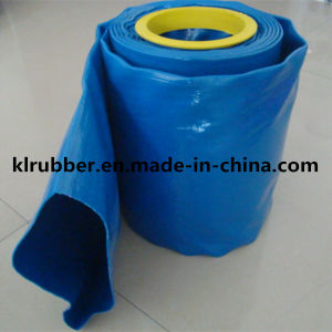 Cheap Price Blue PVC Layflat Hose for Agriculture Irrigation pictures & photos