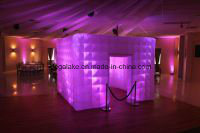 Half Transparent Inflatable Dome Tent pictures & photos