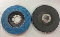 Blue Painted Alo. Oxide Flap Disc Fibre, T29 Backing