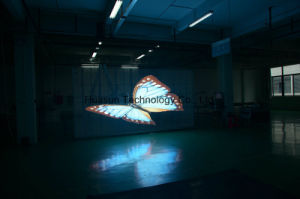 Ultra Slim High Brightness Glass LED Video Wall for Windows LED Facade pictures & photos