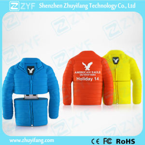Garment Company Gift Down Coat Jacket USB Flash Drive (ZYF1027) pictures & photos